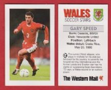 Wales Gary Speed Newcastle United